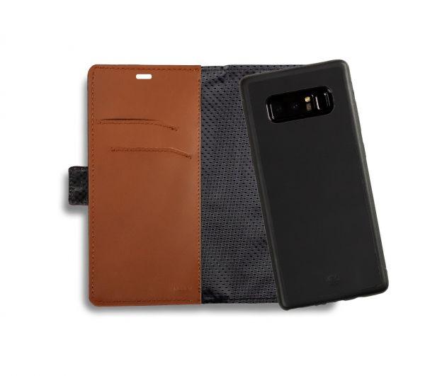 Etui portfel na smartfon skóra gładka