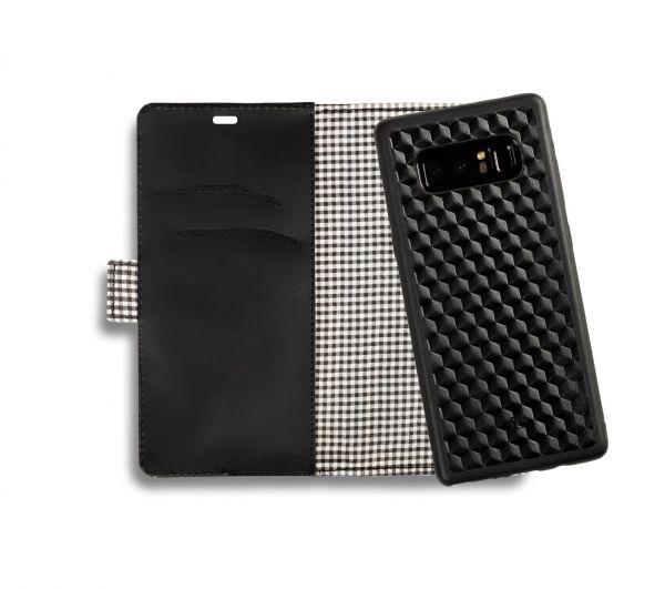 Etui portfel na smartfon skóra tłoczona