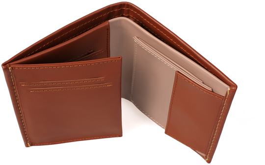 Ręcznie wykonany skórzany portfel